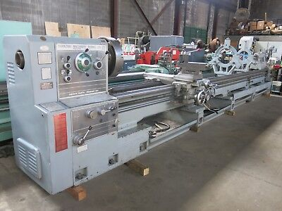 "Mazak 34"" x 240"" Lathe w/ Steady Rests, Dorian Toolpost, 4 1/16"" Spindle Hole"