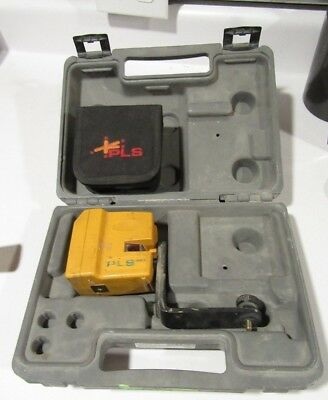 (MA2) Pacific Laser PLS-180 Green Line Laser Level USED