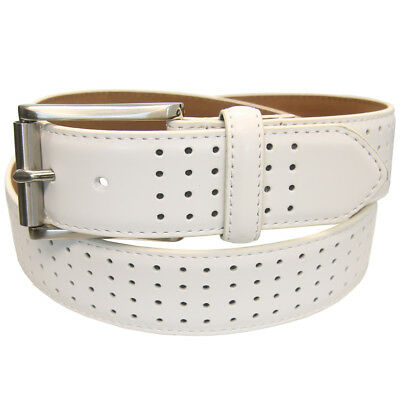PGA Tour Men's Genuine Leather Fashion Color Perforated Belt,  Brand NEW