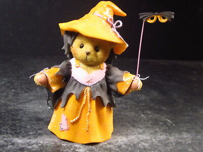 Cherished Teddies TRICIA Bear Witch Witchful Thinking #4040451 New Old Stock