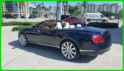 Bentley Continental GT V8 V8 DARK SAPPHIRE LIKE NEW WITH ONLY 5000 MILES!!!!!!