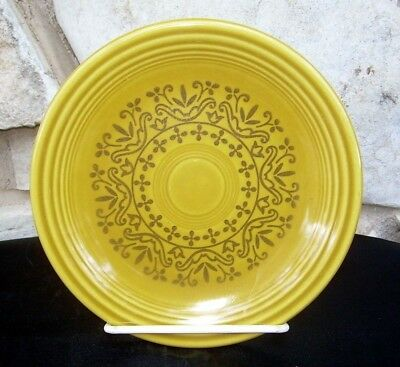 Fiesta Casualstone Gold Bread Butter Plates Lot of 8 Vintage Homer Laughlin