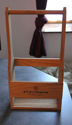 Veuve Clicquot French Champagne  Display Rack 2 Bottles