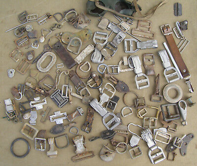 Original German WWII/Post War Lot Of Equipment Hardware (Most Are WWII)