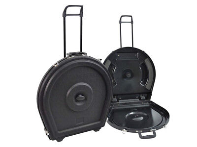 XTREME ABS Hard Cymbal Caddy Case With Wheels And Retractable Handle