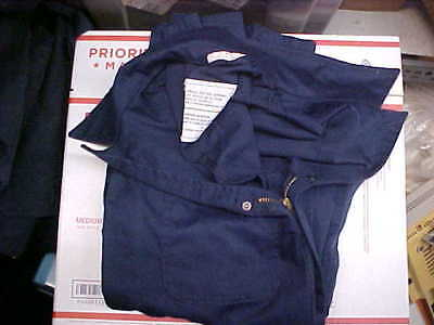 Military NAVY USN US Naval Sea Cadet Blue Coveralls Utility 42L loc#n61