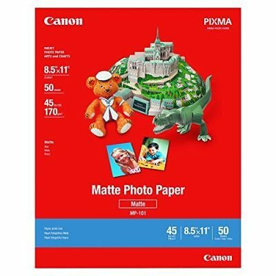 NEW~Canon Matte Photo Paper~8.5 x 11~50 Sheets~FREE SHIPPING