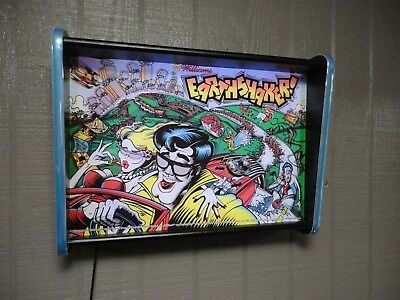 Williams Earthshaker Pinball Head LED Display light box