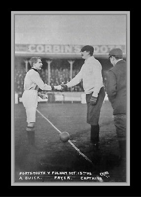 Collectors/Photograph/Print/7 x 5 Photo/Portsmouth v Fulham Fratton Park 1906