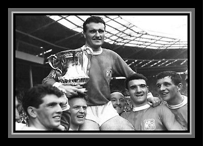 Collectors/Photograph/Print/7 x 5 Photo/Manchester United 1963 FA Cup Winners 4