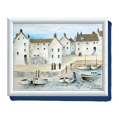 Creative Tops Cushioned Laptray Cornish Harbour CT 17 inch x 13 inch NEW