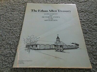 Ethen Allan The Treasury Supplement and Pictorial Index to 84th Addition