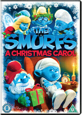 The Smurfs: A Christmas Carol DVD (2013) Troy Quane