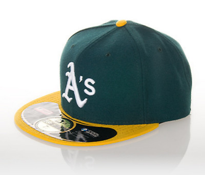 New Era OAKLAND A'S 59FIFTY hat cap Fitted - Size - 6 3/8 (Y228A)