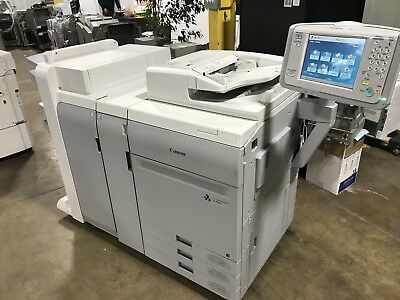 Canon Imagepress  C700  With Fiery Server G100  & Finisher Booklet Stapler