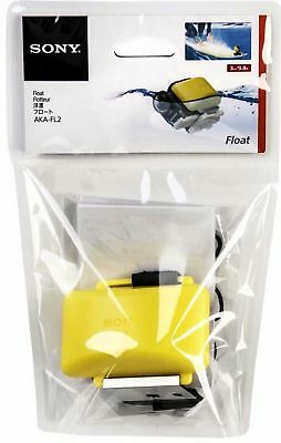 NEW SEALED Sony AKA-FL2 Floatation Device for Action Cam, Yellow