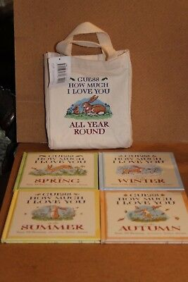 Guess How Much I Love X 4 Books In Bag - All Year Round Wtgs