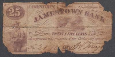 ND Jamestown Bank Chautauqua New York 25 Cents