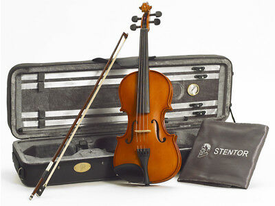 STENTOR Conservatoire II Violin Outfit Comes With Bow, Case And Varnish