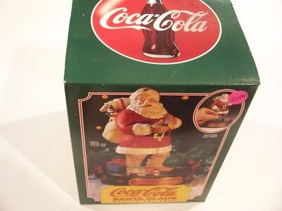 Vintage 1993 Ertl Coca Cola Santa Claus Mechanical Bank 1St In Series Nib