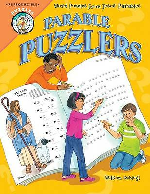 CPH Teaching Resource (Paperback): Parable Puzzlers: Word Puzzles from Jesus'
