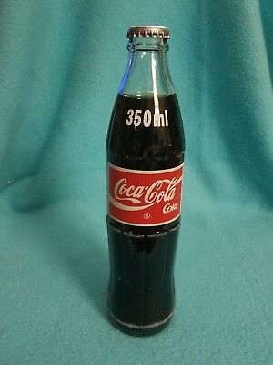 Rare 1995 Colombian 350ml sealed coca cola bottle