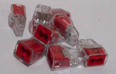 """Lot of 200 New 0.78"""" Push-In Connectors, Ideal, 30-1632"""
