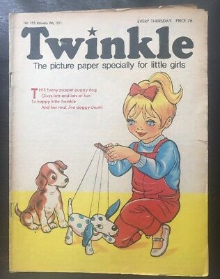 Twinkle  Comic No. 155. 9 Jan 1971. With Dress Twinkle Page