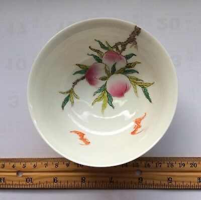 China antique porcelain bowl peach