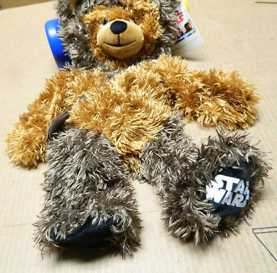 New (1) Build a Bear Chewbacca Star Wars Plush Doll