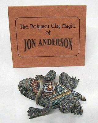 Fabulous Fimo Creations Baby Horned Toad Polymer Clay Magic Of Jon Anderson 2004