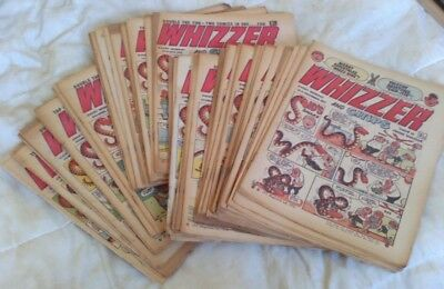 Whizzer and Chips comic (x 44) 1972. Good comics