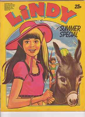 Lindy Summer/Holiday Special comic (1975, scarce). Good-VGC