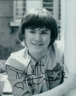 """Doctor Who Matthew Waterhouse as Adric Signed 8""""x10"""" Autograph Photo Dr Who"""