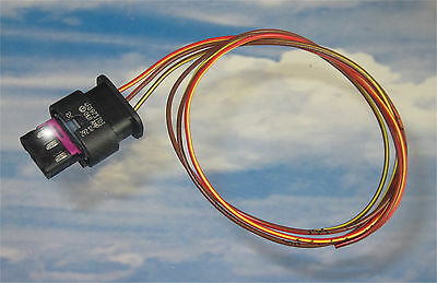 PDC Stecker 4F0973703 mit 25cm Leitung Kabel Cable 000979034E VW Audi Seat BMW