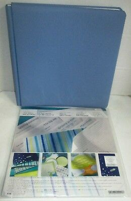 Creative Memories 12x12 Album Coverset Blue and Once Upon a Baby Boy Bright