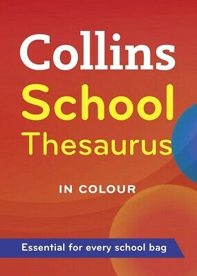 Collins school thesaurus (Paperback / softback) Expertly Refurbished Product
