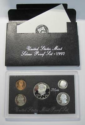 1997 Silver Proof Set * 90% Silver Half, Quarter & Dime * With COA * No Reserve