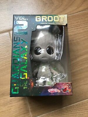 HOT TOYS GOTG 2 Groot Frosted Ver Bobble-Head Cosbaby 4