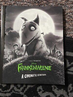Frankenweenie Comic Book Artwork Disney Tim Burton Cinematic Storybook