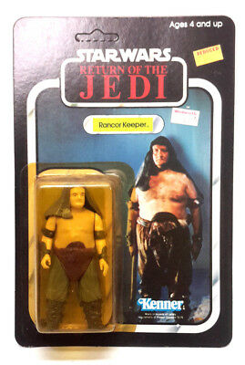 1983 RANCOR KEEPER Star Wars ROJ Kenner Action Figure-Unpunched MOC (M-6831)
