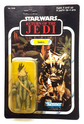 1983 TEEBO Star Wars ROJ Kenner Action Figure-Unpunched- MOC (M-6832)