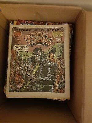 Collection of 91 2000 AD comics