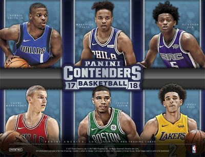 2017-18 Panini Contenders Season Ticket Premium Edition Prizm Pick From List