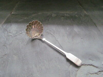 Antique Solid Silver Gilt Lined Chinese Export Sifter Ladle  Circa 1890 - 1900