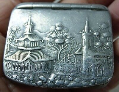 Very Old Snuff Box - Cardinal Blend Snuff Charing Cross Rd London G.smith & Sons