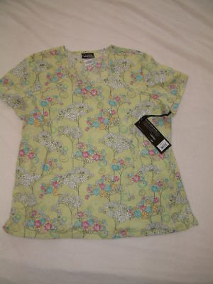 Cute-WOMENS NEW with TAGS UNIFORM SCRUB TOP Runway by Cherokee