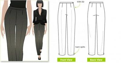Style Arc Ladies Sewing Pattern Willow Pants MLPW030S-M