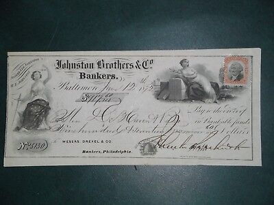 Johnston Brothers & Co. June 12, 1872. Baltimore, Md.
