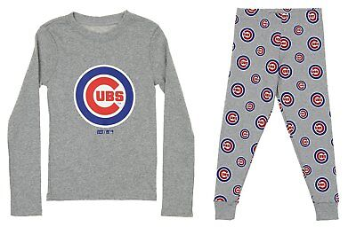 MLB Toddlers Chicago Cubs 2 Piece Shirt and Pajama Set